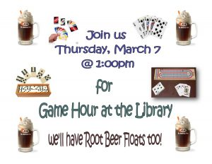 Play Games at the Library