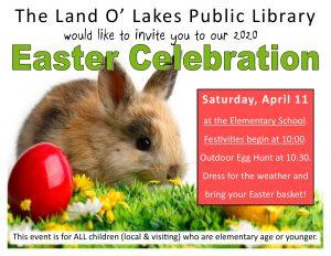CANCELLED - Easter Celebration @ Land O Lakes Elementary School